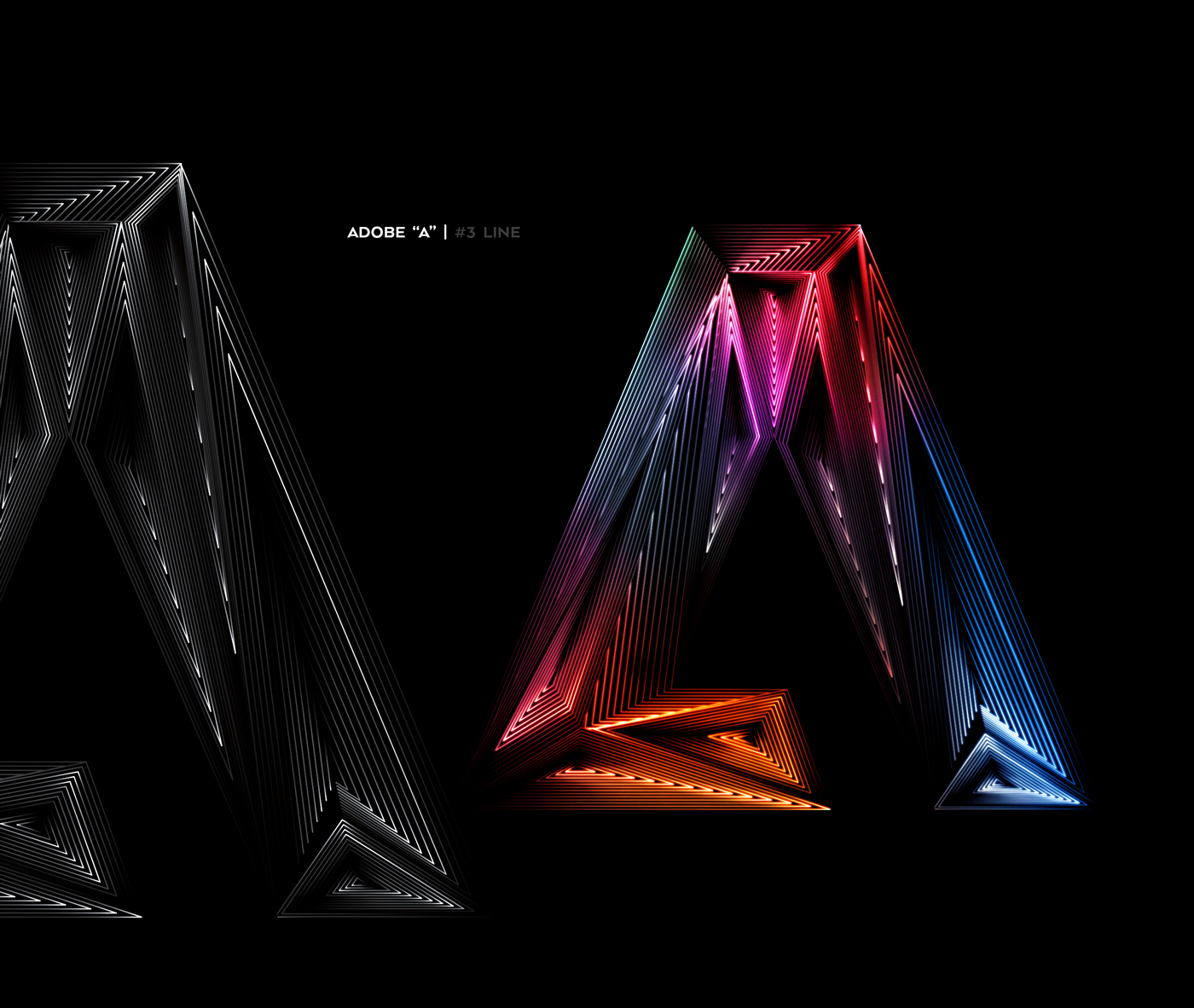 Graphic Design: Adobe Light and Shadow Explorations