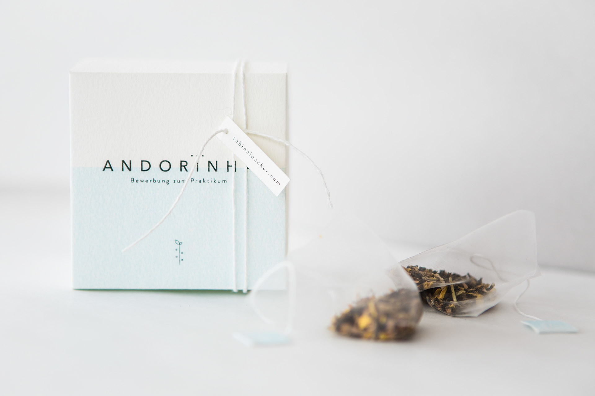 Gorgeous Tea Packaging by Sabina Loacker