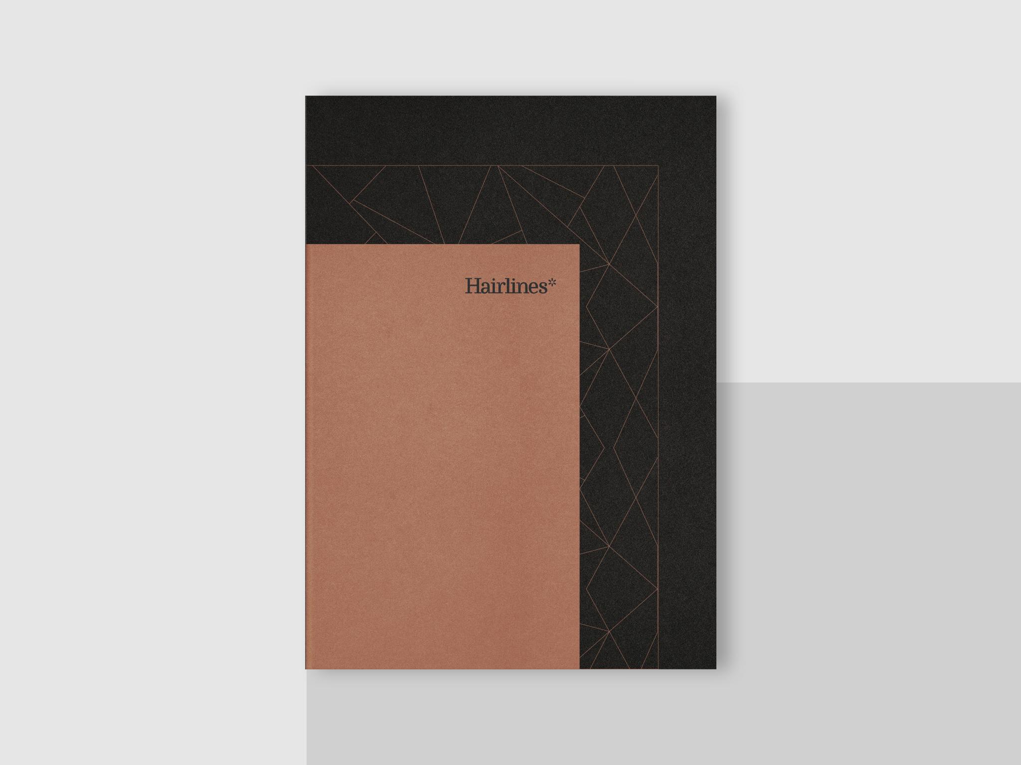 Elegant Brand Identity for Hairlines by BULLSEYE