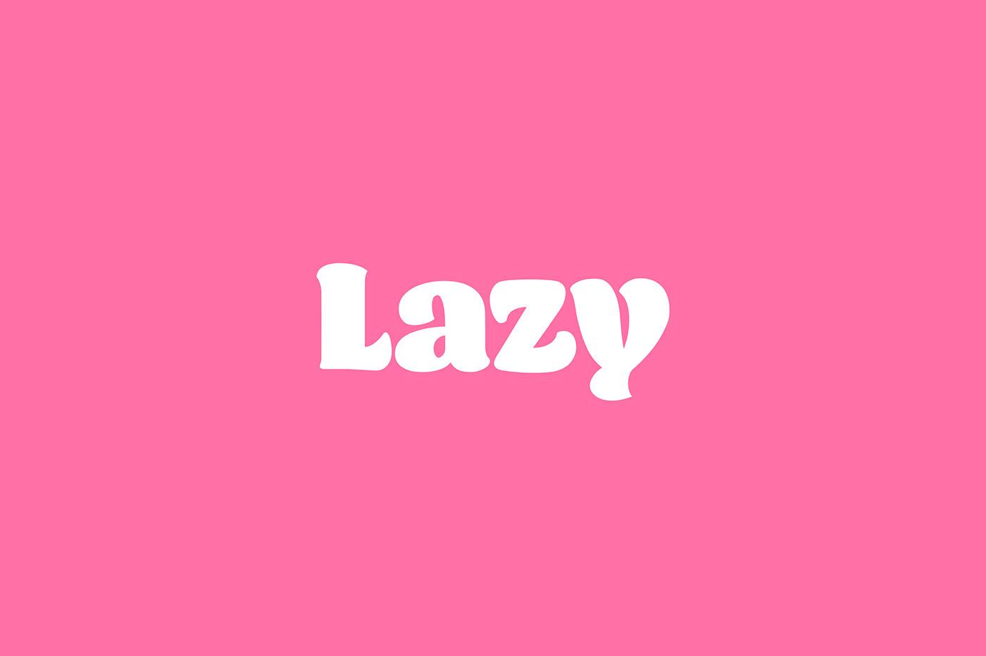 Visual Identity for Lazy Breakfast Club