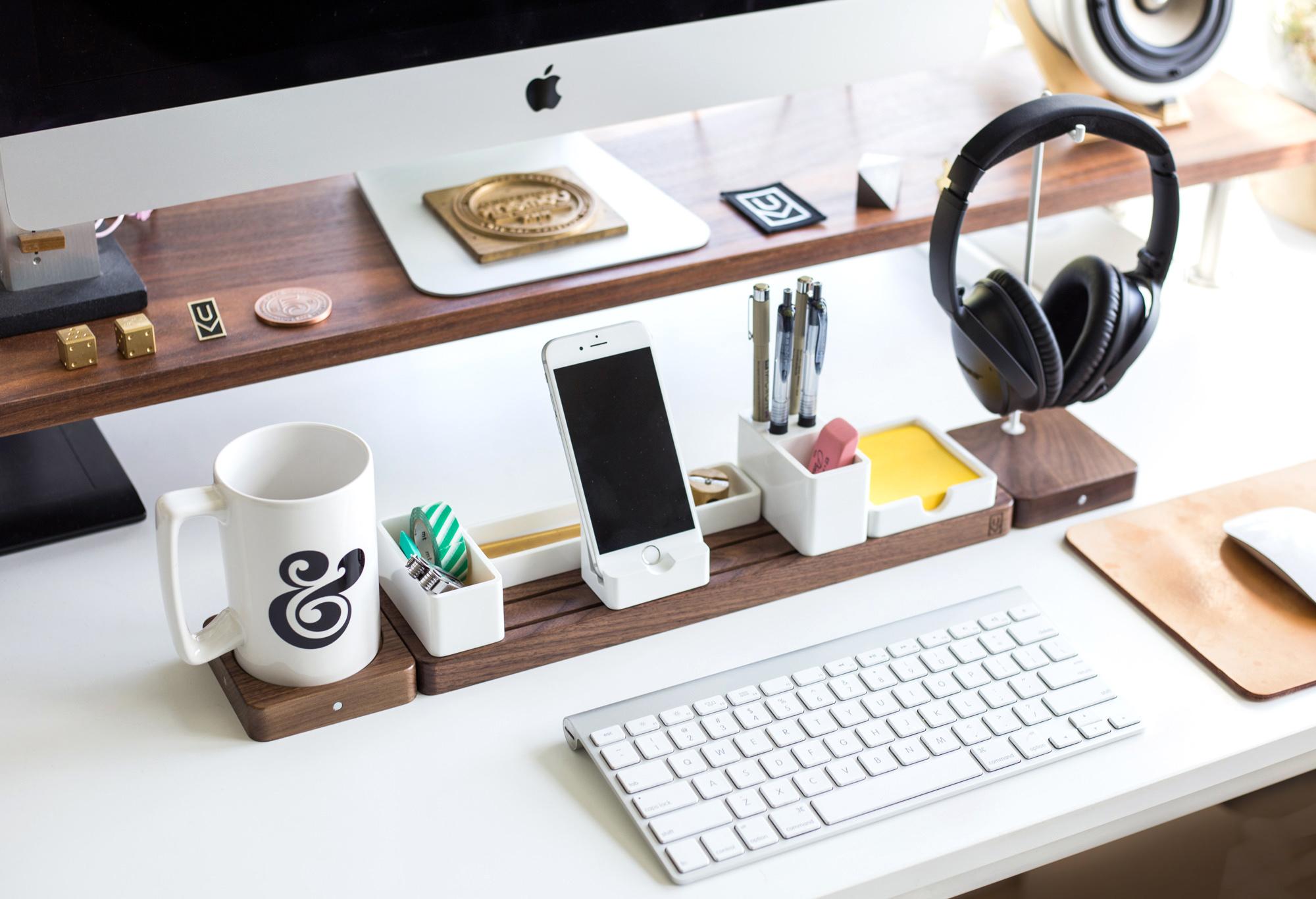Gather by Ugmonk: Minimal & Modular, your Next Desk Organizer