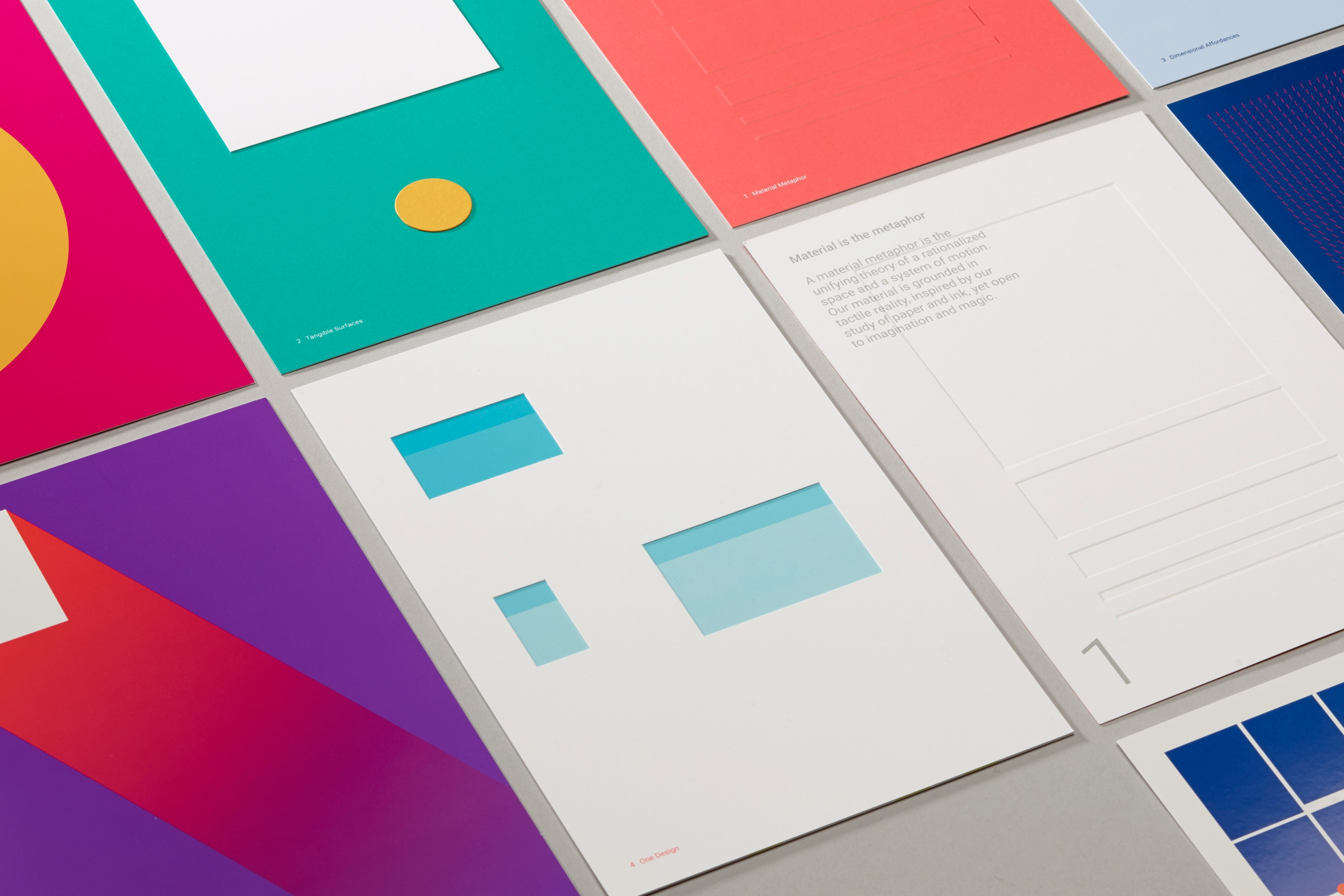 Google Material Design Printed Kit by Manual