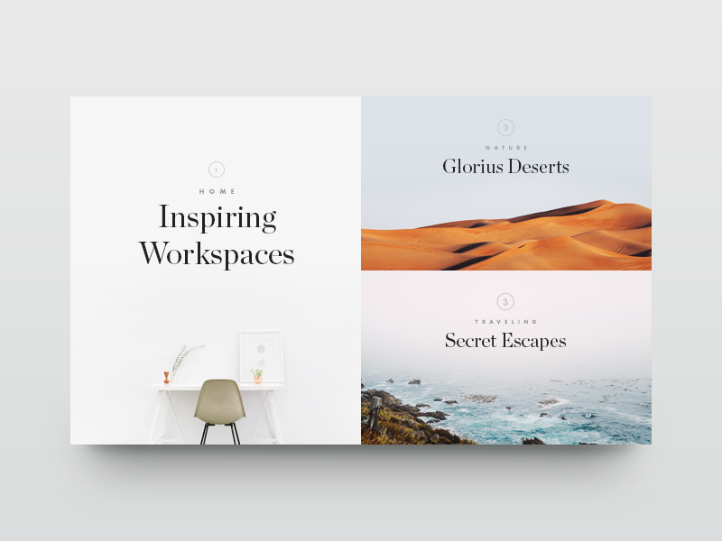 Elegant and Minimalist Web Design Ideas