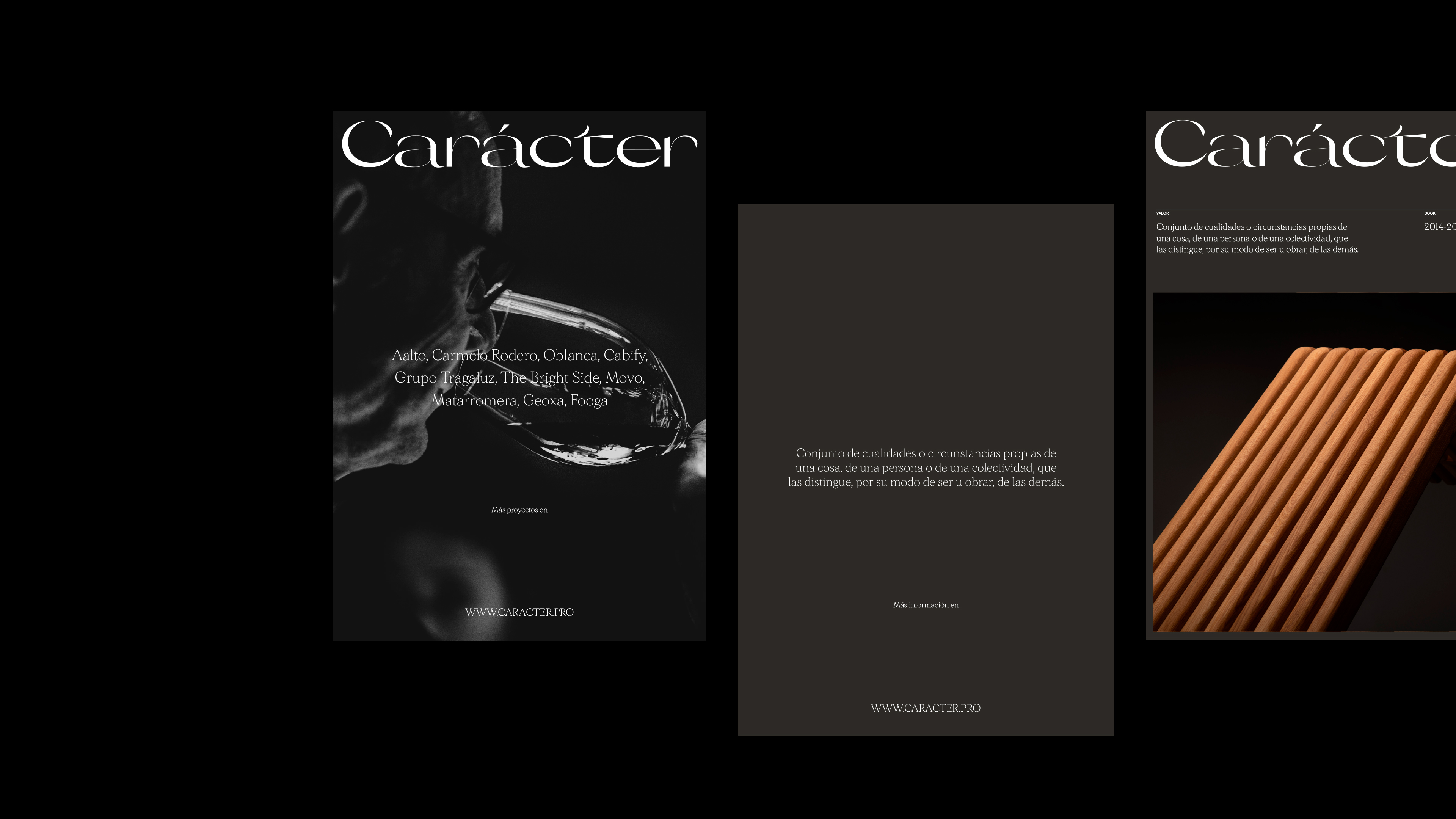 Carácter Branding and Visual Identity