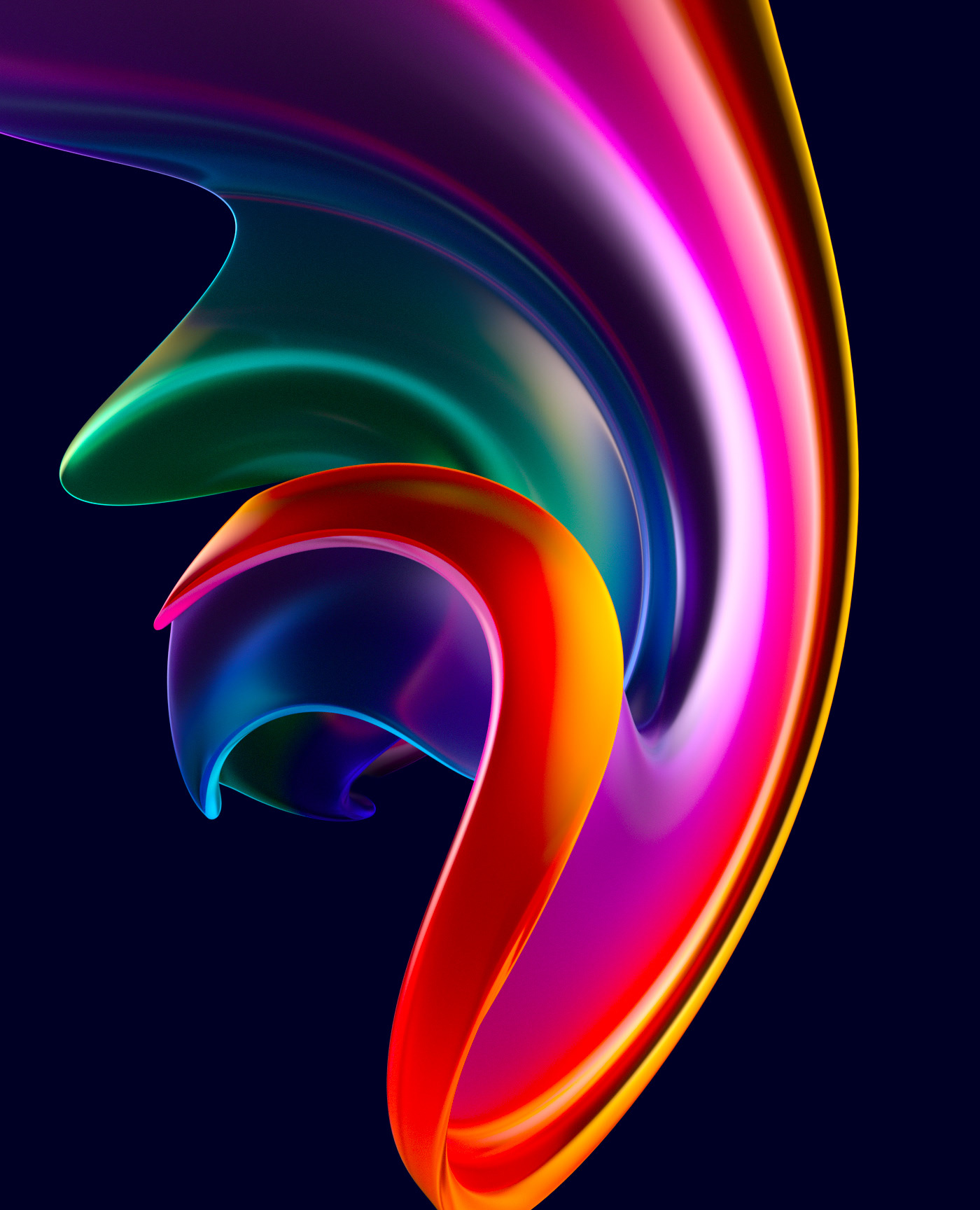 3D Abstract & Colorful Shapes