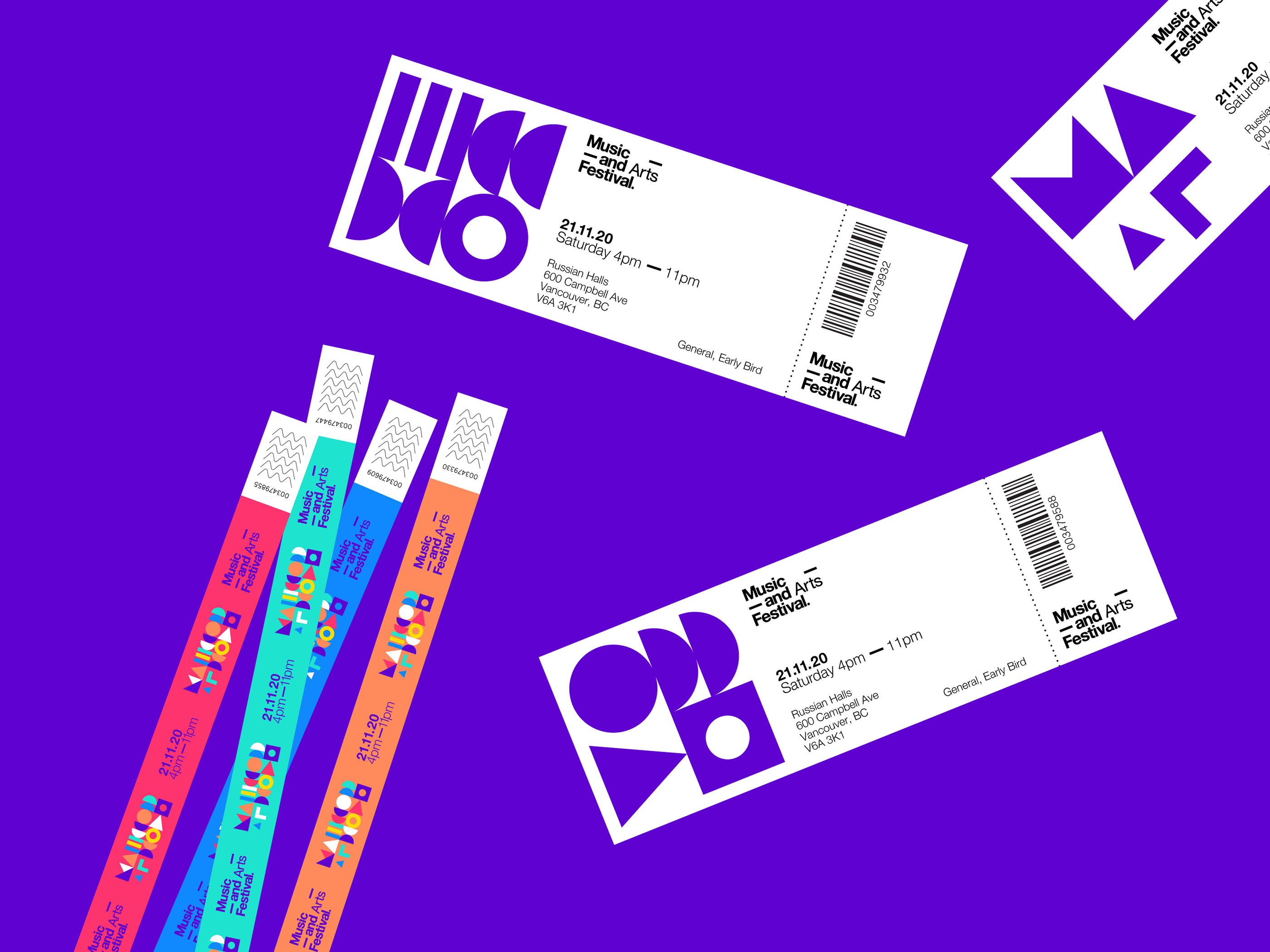 Branding and Visual Identity for Music and Arts Festival