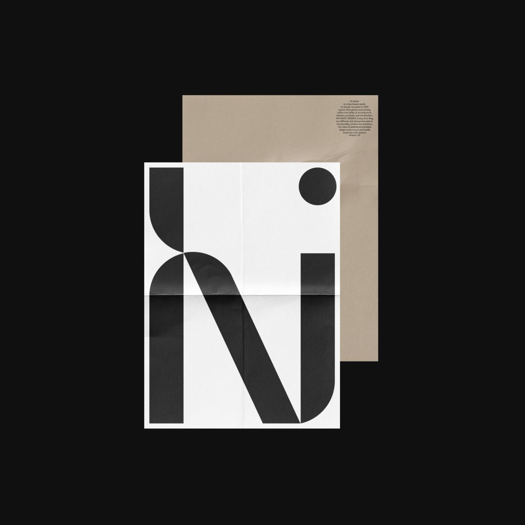 Hi atelier —Branding and Visual Identity