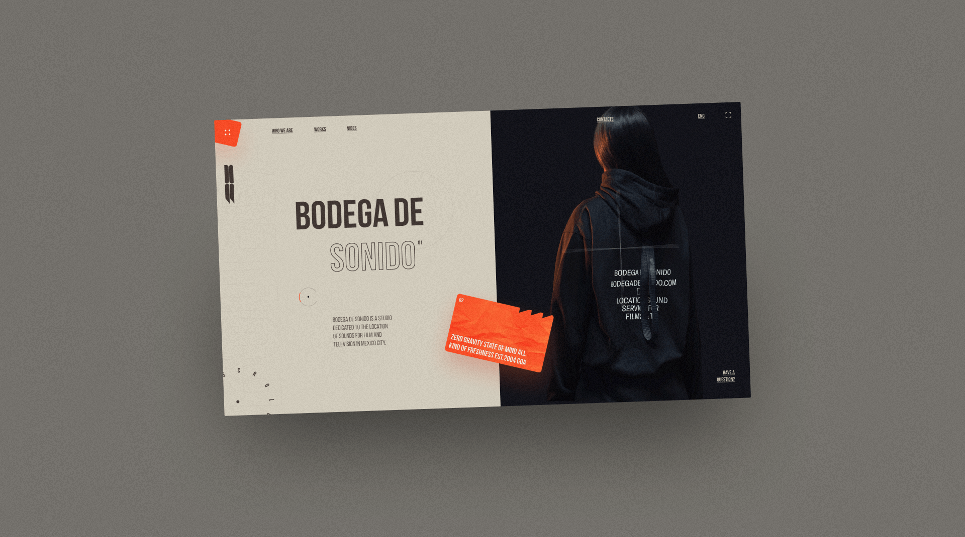 Stylish Web Design for Bodega de Sonido