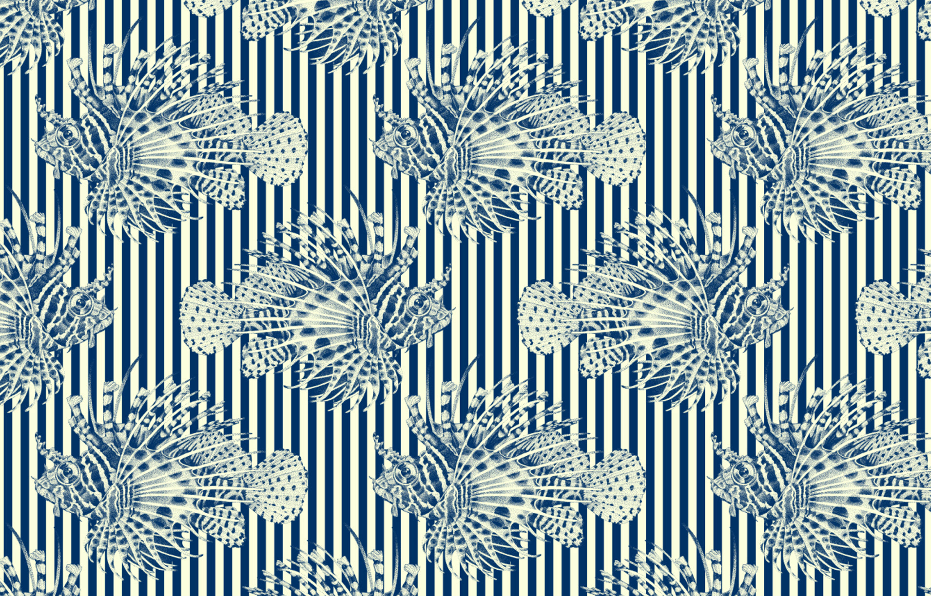 Surface Design - Abyss Collection: Traditional Pattern Structures