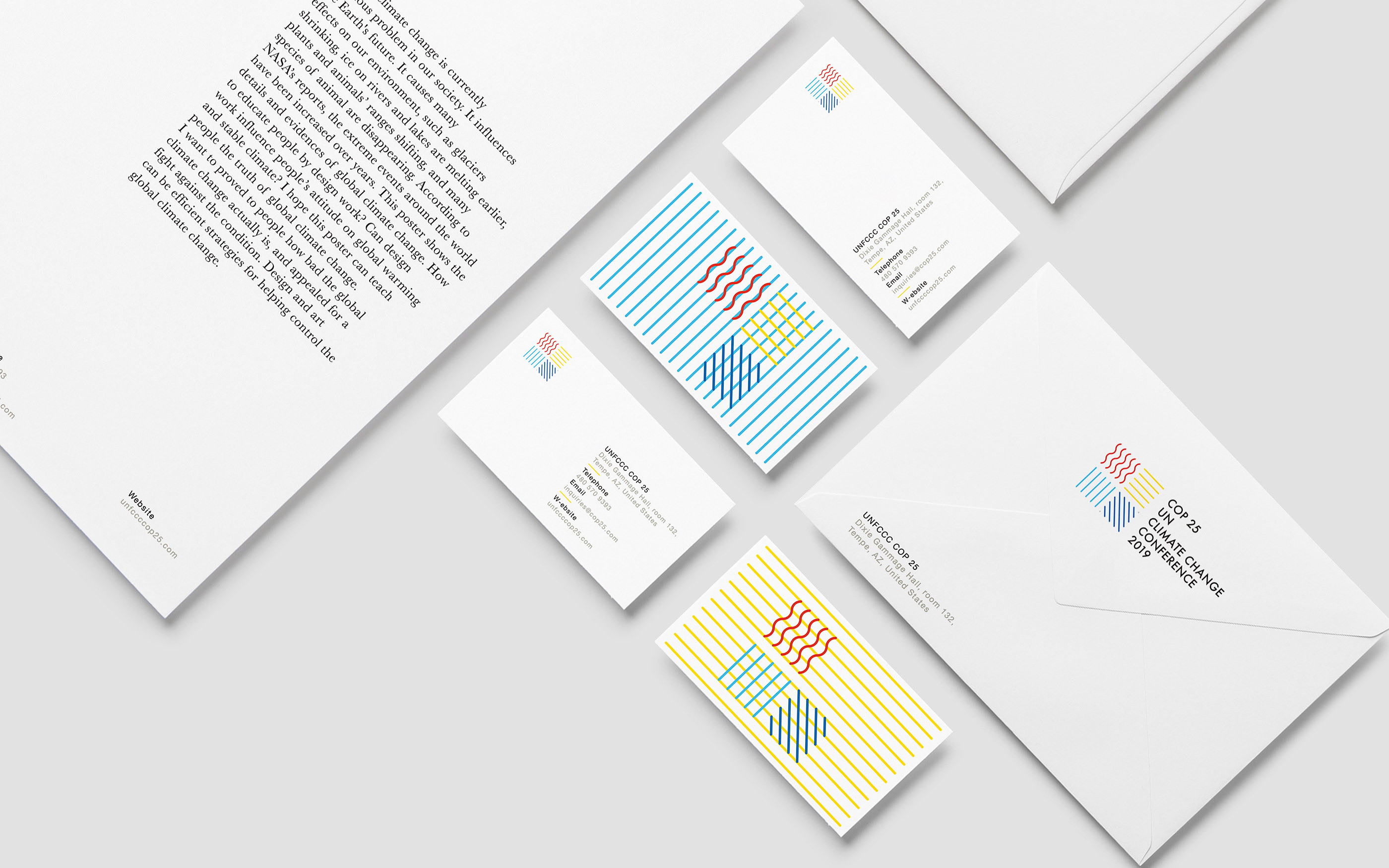 Concept Branding for Climate Change Conference
