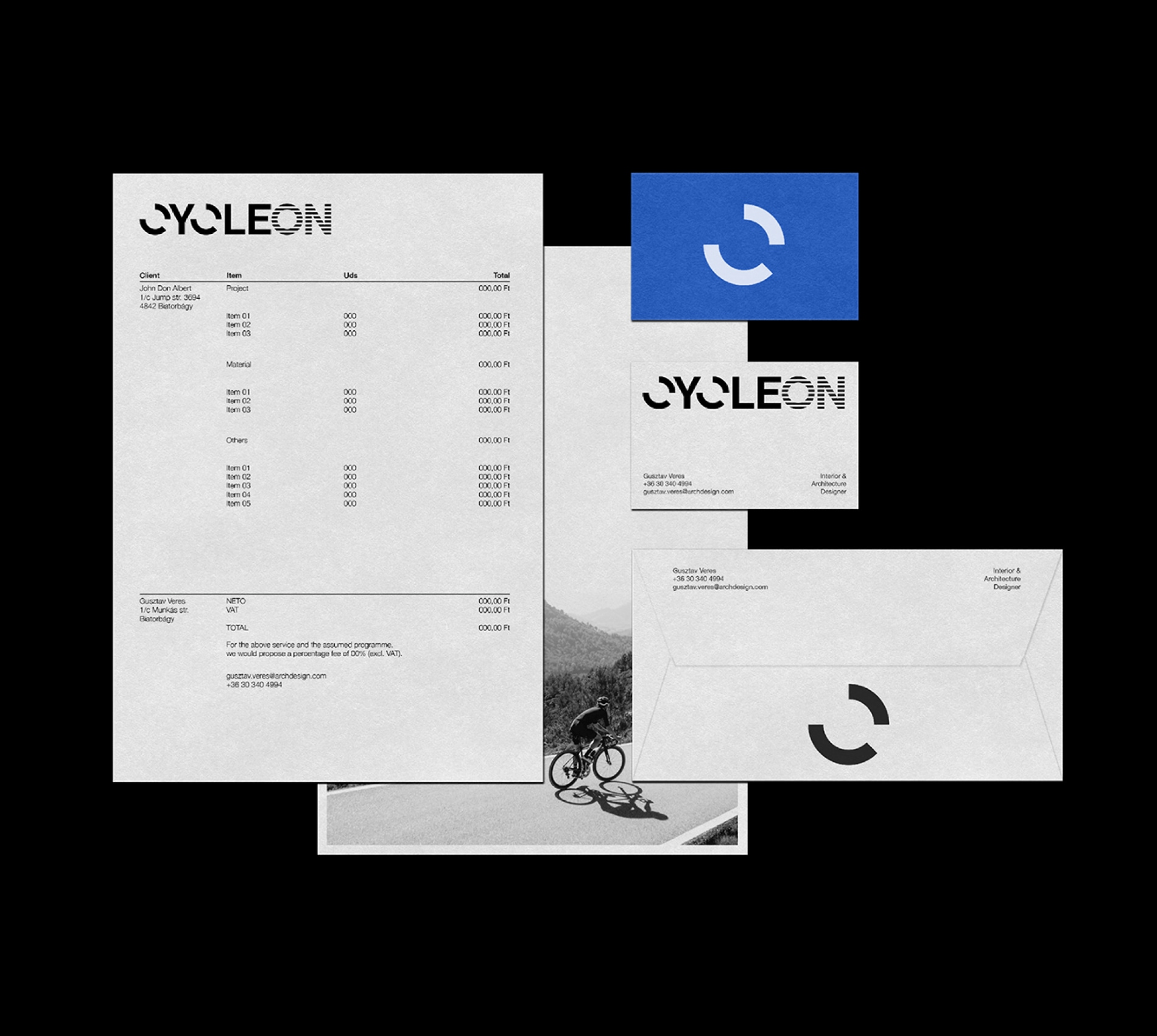 Branding and Visual Identity for Cycleon