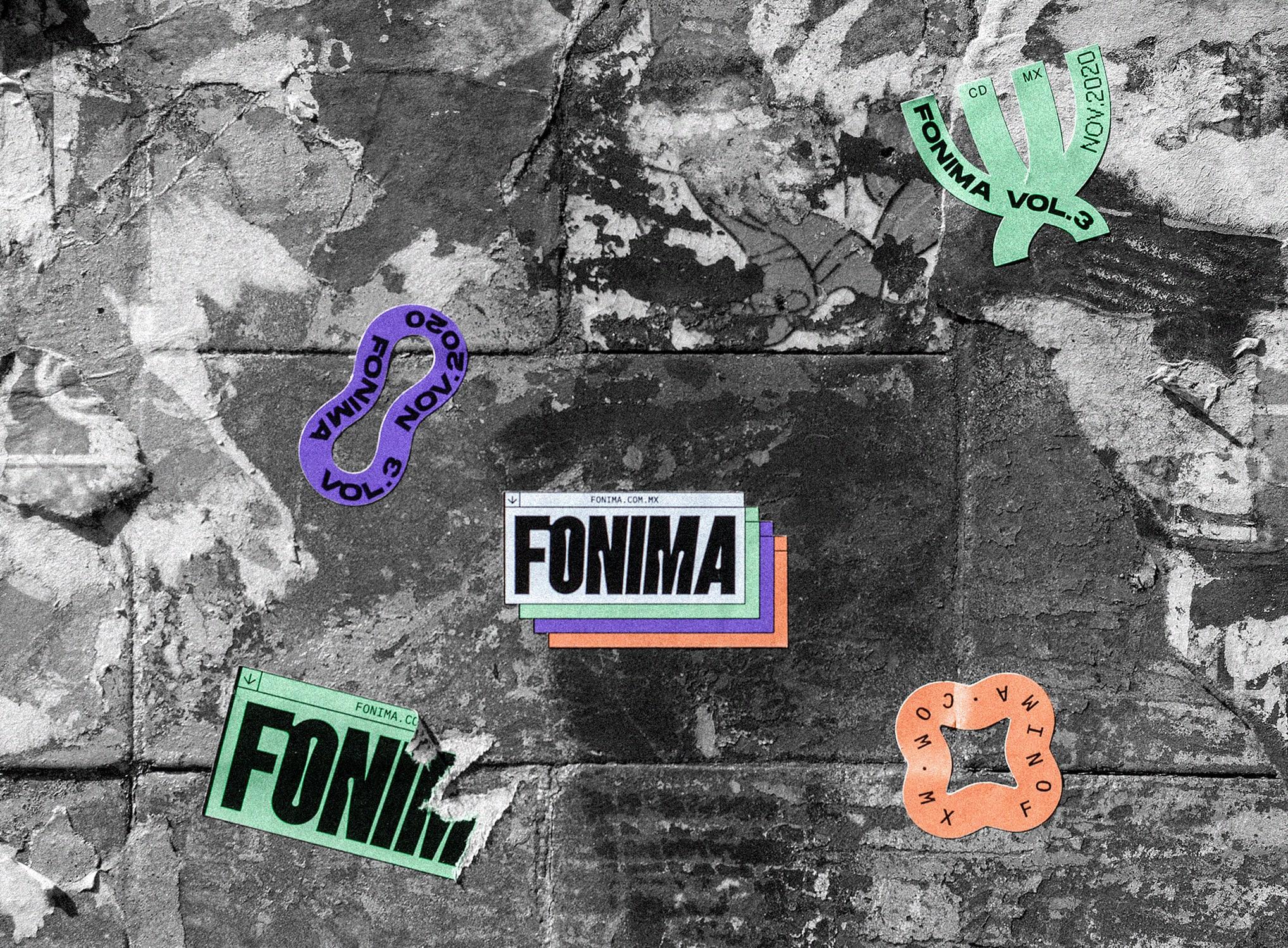 Fonima Vol. 3 — Branding and Visual Identity