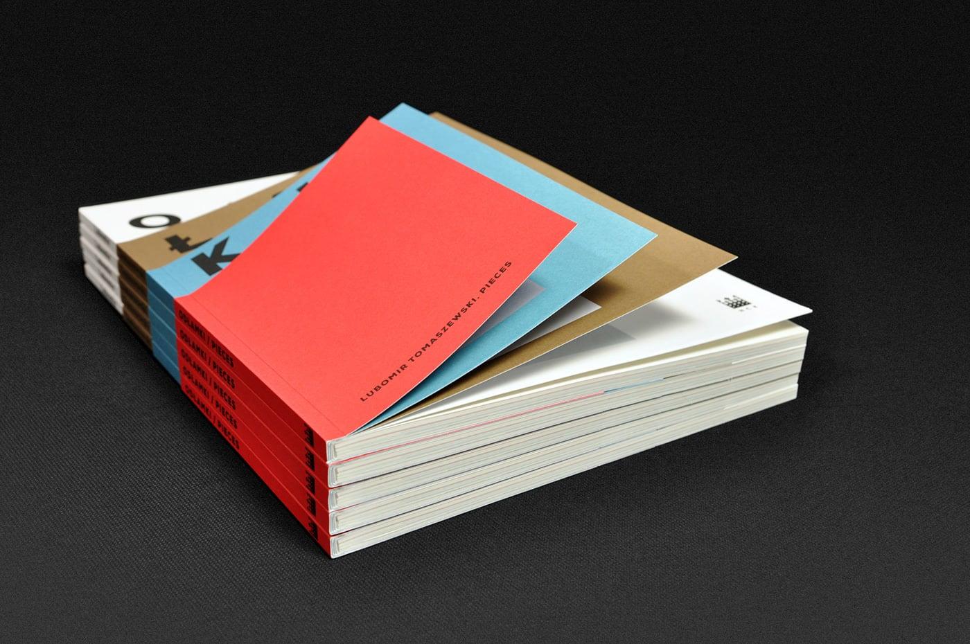 Editorial Design for Lubomir Toaszewski Exhibit