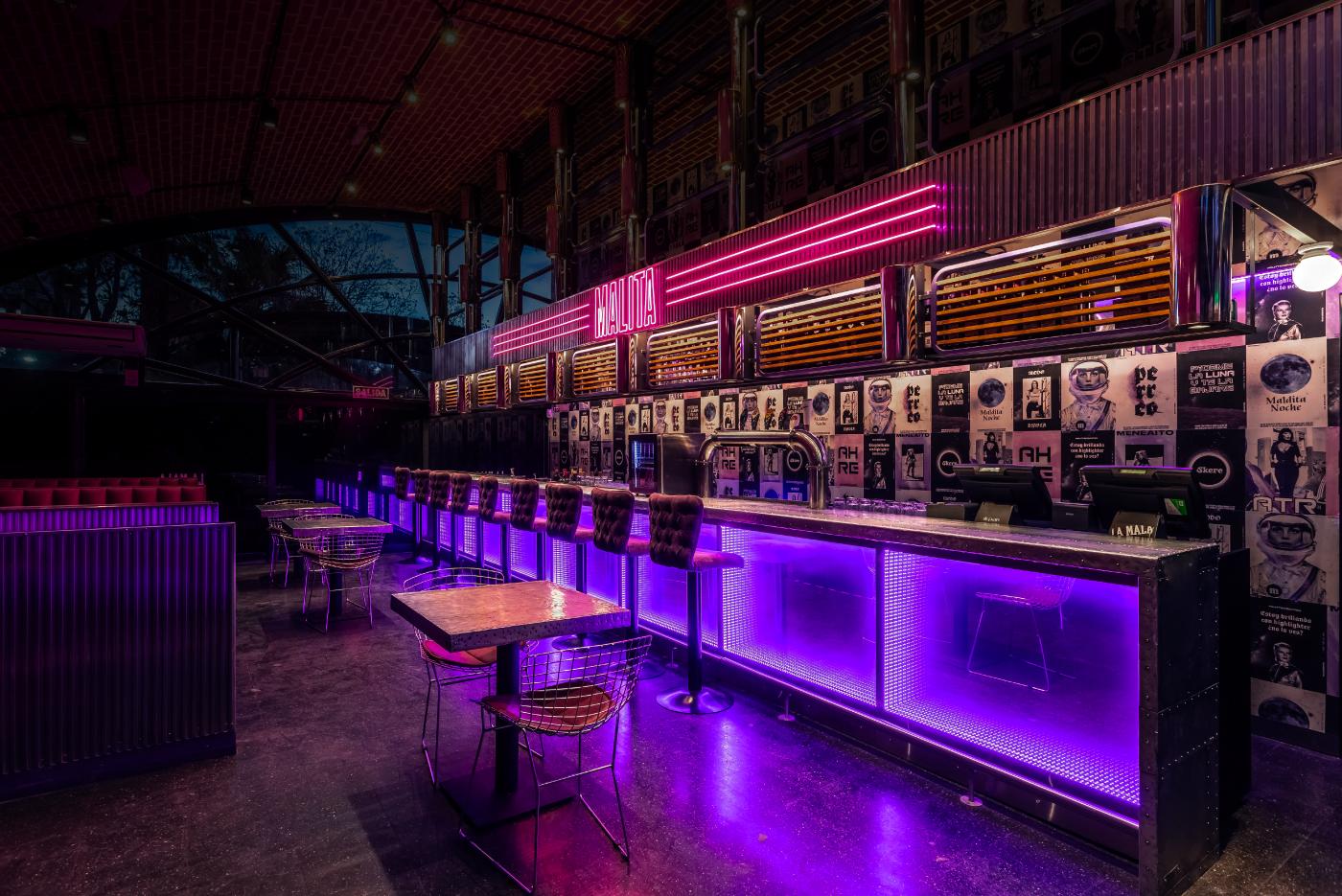 Branding & Full Visual Identity for La Mala Pub