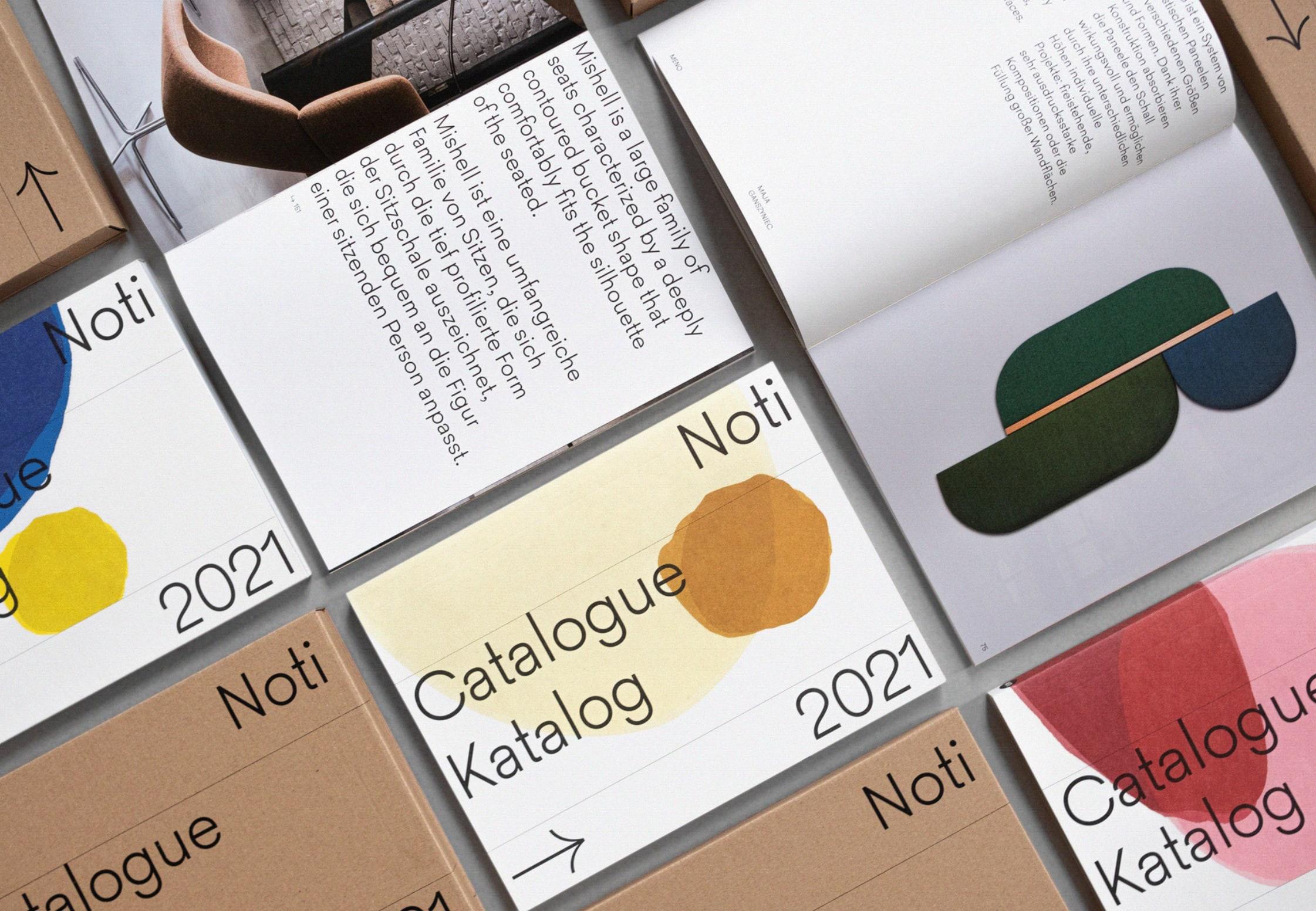 Noti - Editorial Design