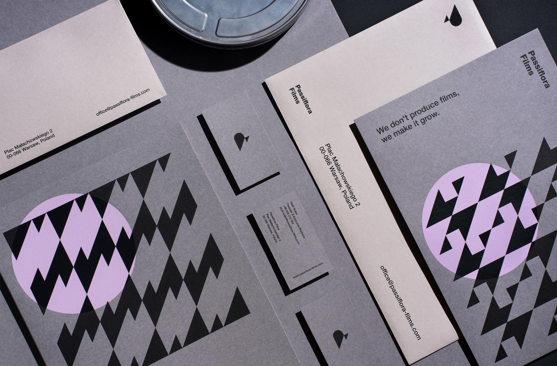 Passiflora Films Branding and Visual Identity