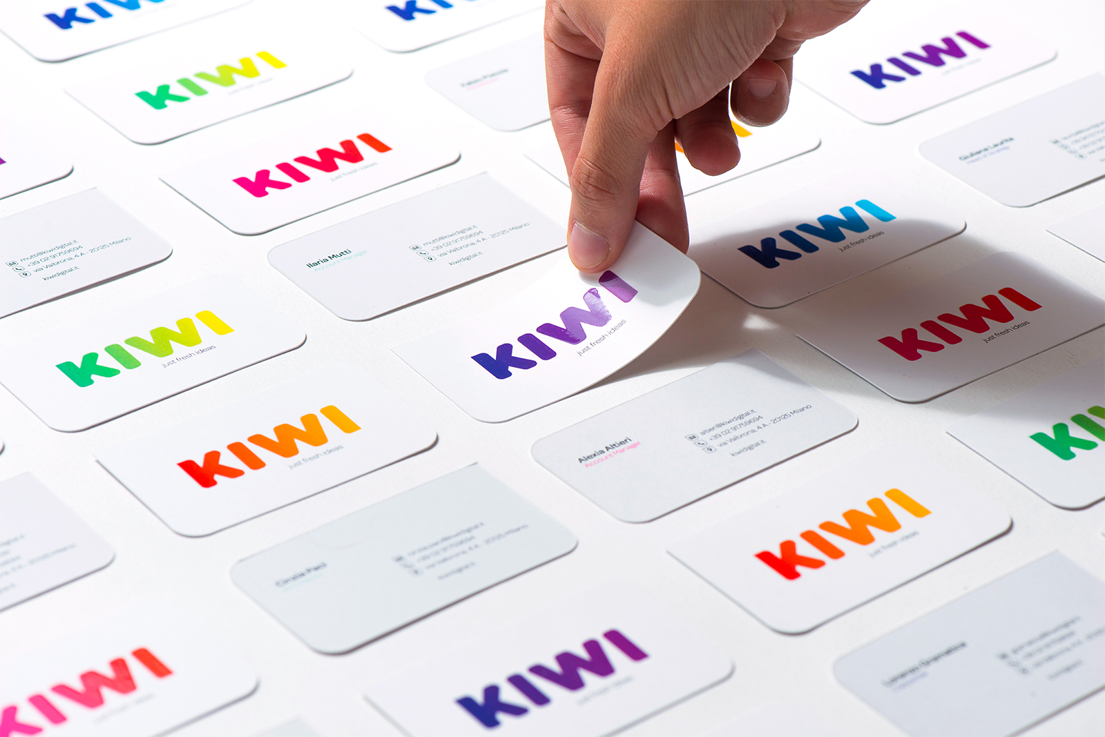 Brand Identity for Creative Digital Agency KIWI