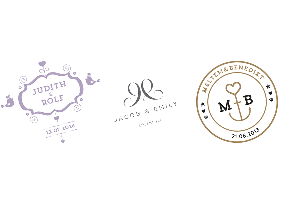 wedding logo design ideas wwwpixsharkcom images