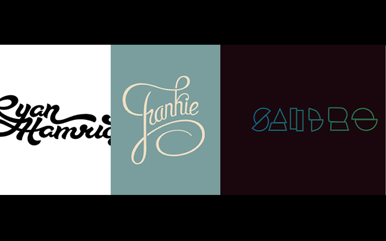 Logo Design Personal Names