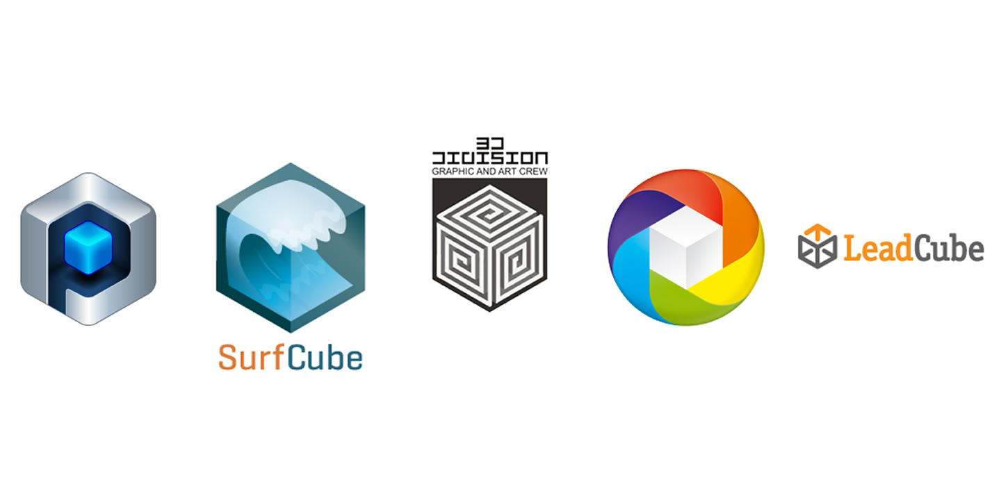 Image Gallery Logo Cube