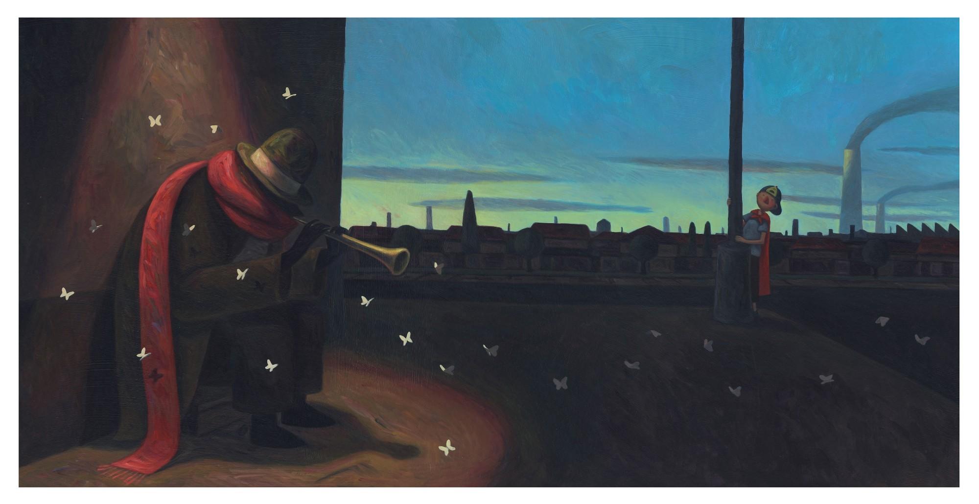 Une Historie: Delightful Illustrations by Marc Majewski
