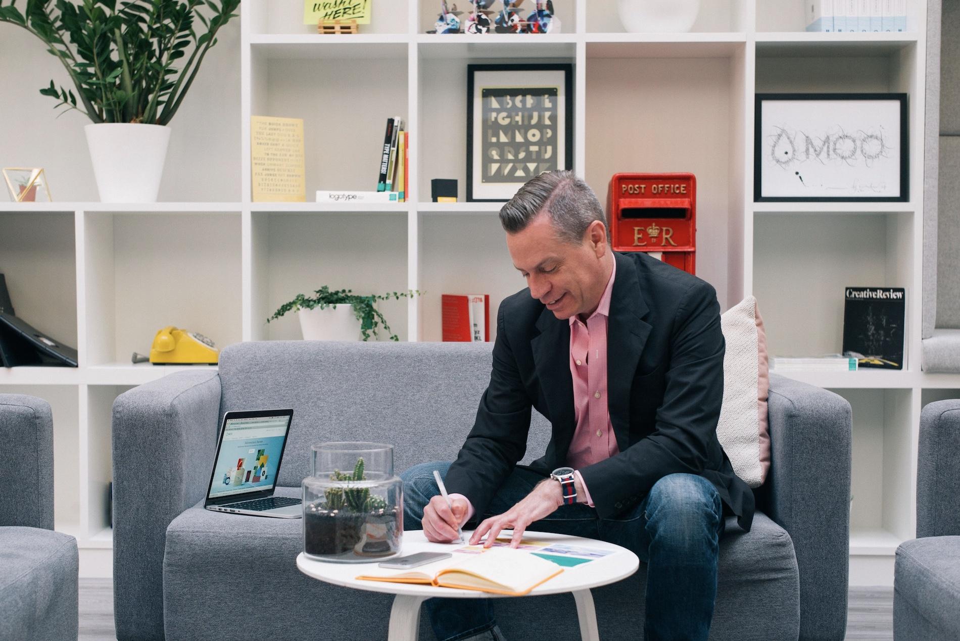 Interview with: MOO Global Creative Director Brendan Stephens