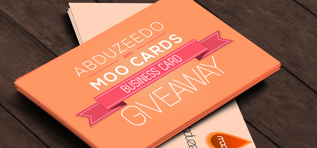 Moo Business Cards Giveaway