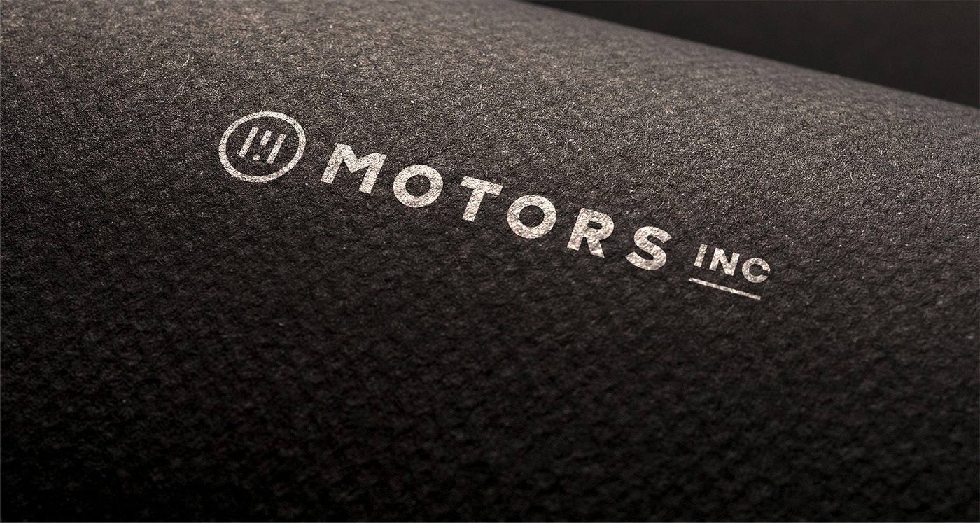 Motors Inc Beautiful Brand Identity