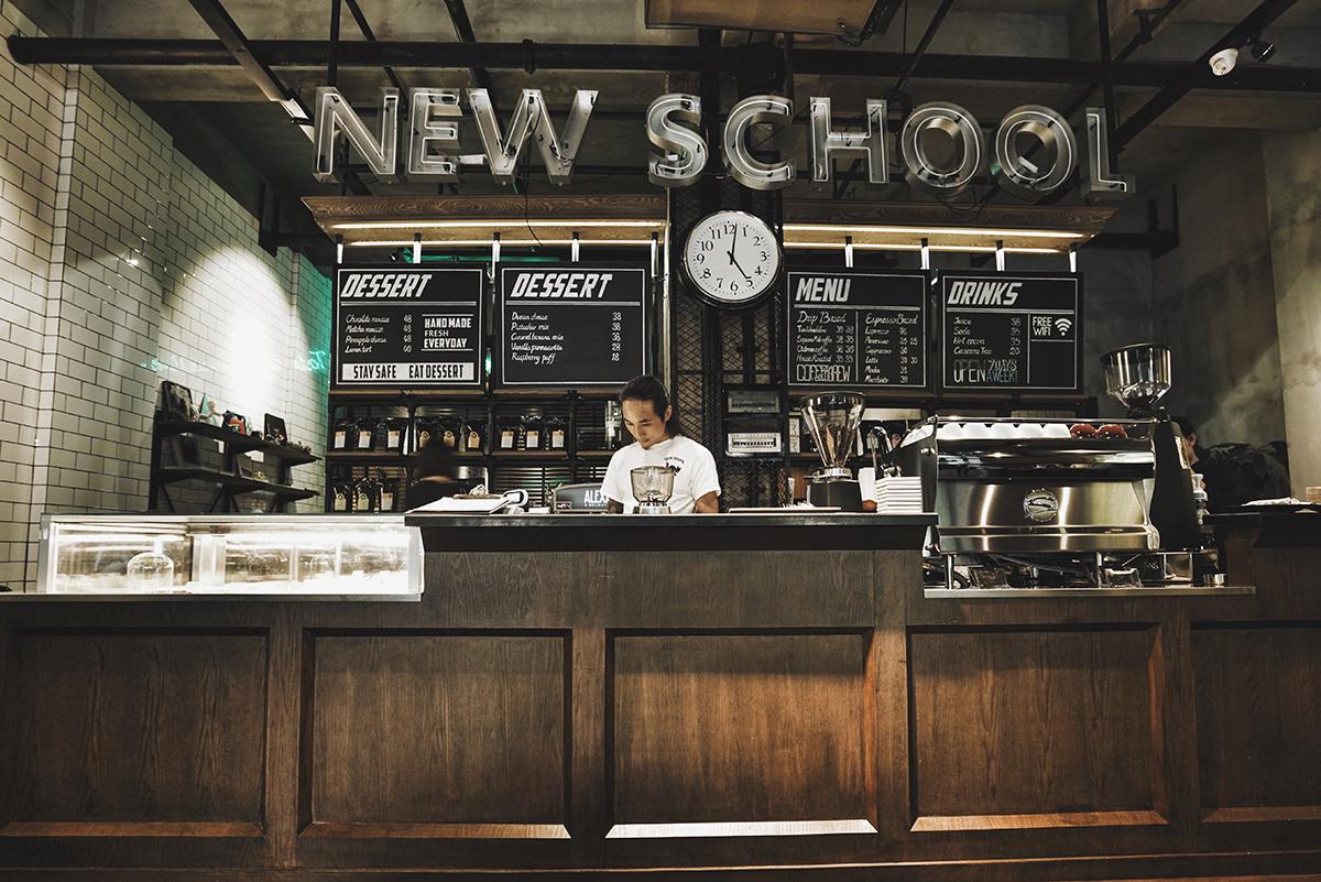 Interior Design Love: Chengdu, China's New School Coffee and Tattoo