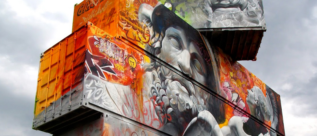 Unbelievable Graffiti Artworks by PichiAvo