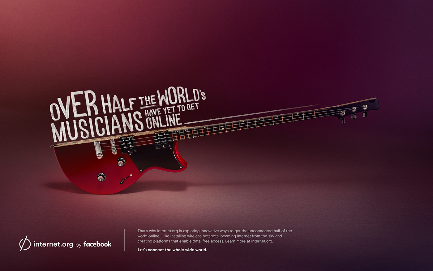 Digital Art and Advertising: Internet.org by Facebook