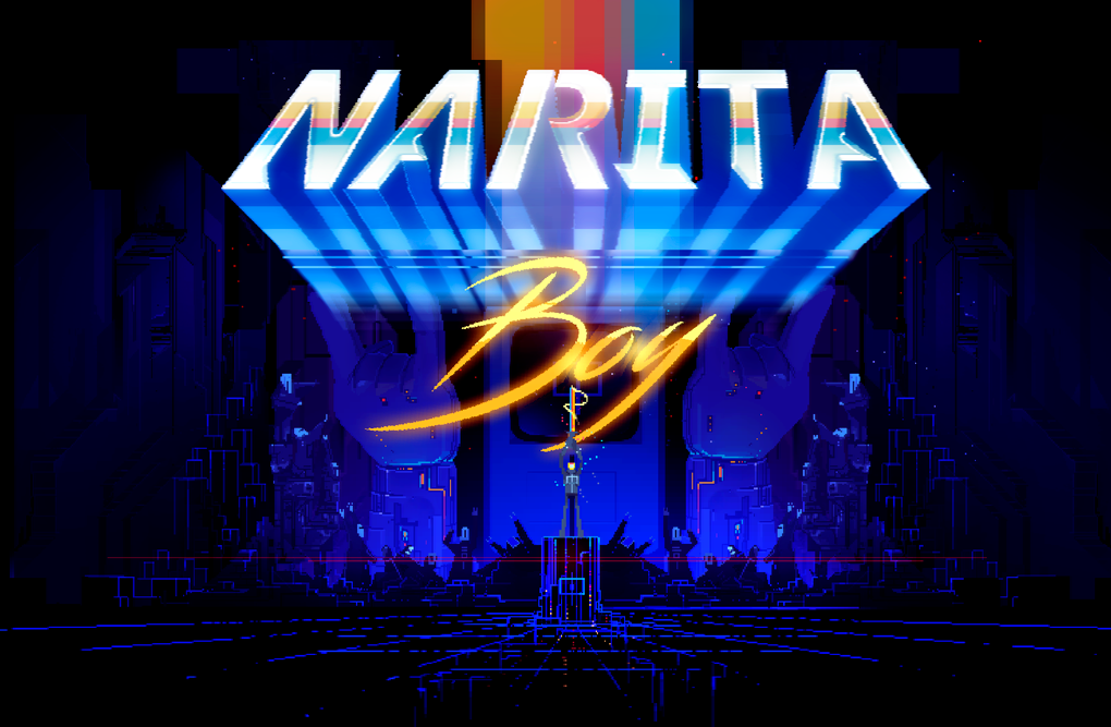 Game Design: Narita Boy -The retro futuristic pixel game