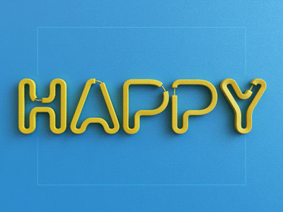 Motion Design: Twisted Letters Experiments