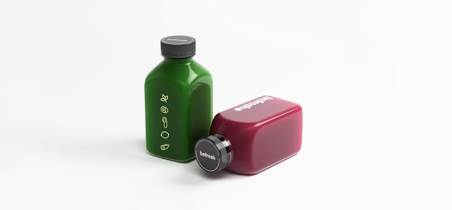 Branding and Packaging Design: Befresh