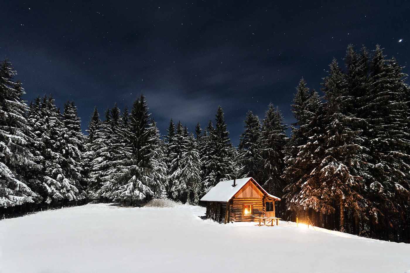 Wallpaper of the week first snow by paul itkin voltagebd Choice Image