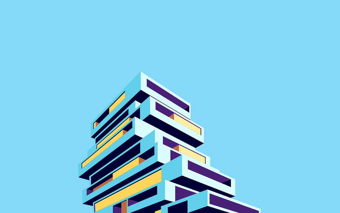 Poster design for architecture - Zarvos Architecture Posters