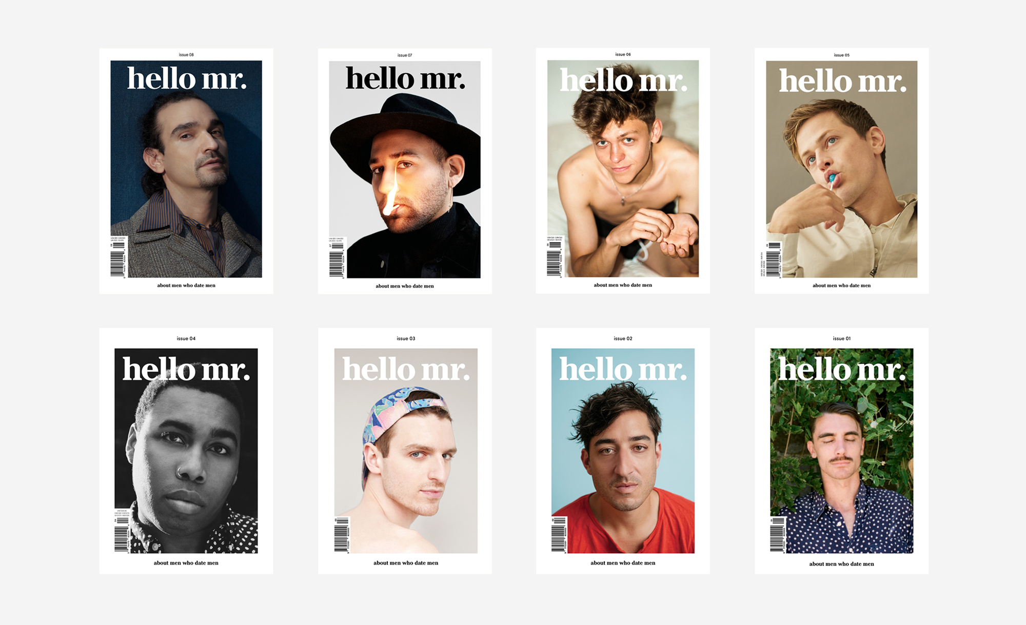Editorial Design: Hello Mr. Magazine