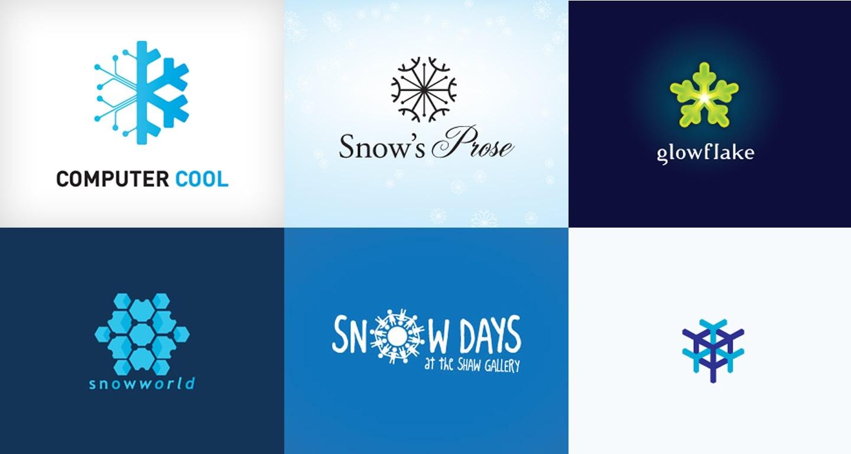 Logo Design: Snowflakes