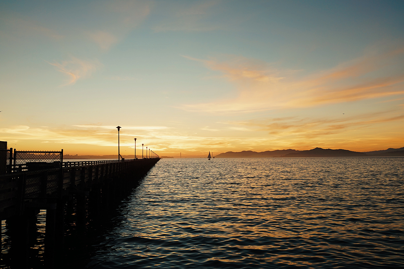 Wallpaper of the Week - Berkeley Pier