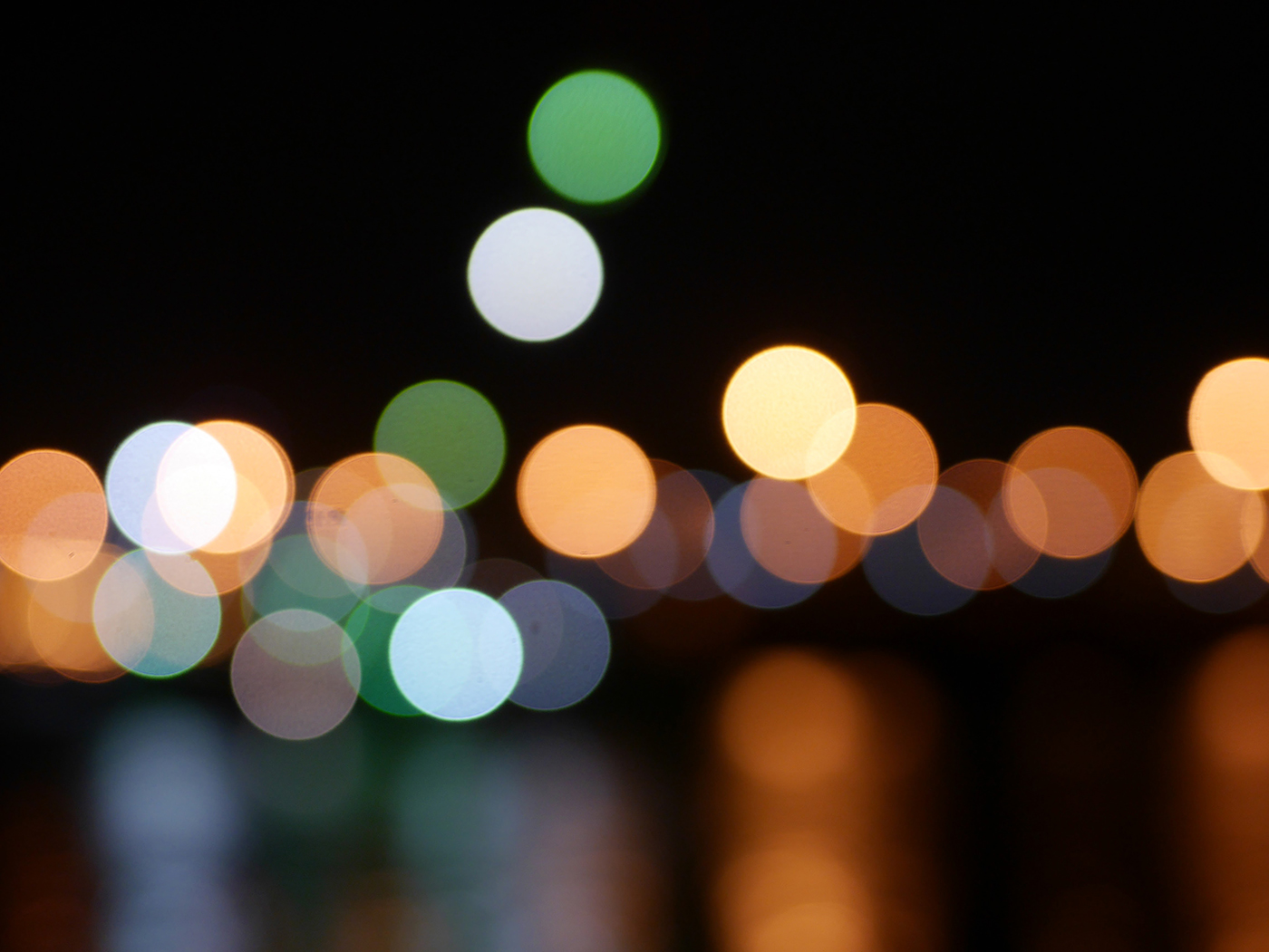 Wallpaper of the Week - Bokeh Tribute