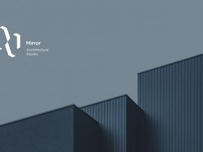 Minimalist Brand Identity for Architecture Studio Mirror