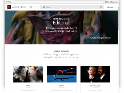 Adobe Stock introducing New Editorial Collection & Next-Gen Search Capabilities