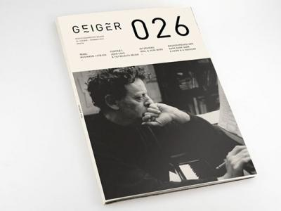 Geiger Magazine - Editorial Design