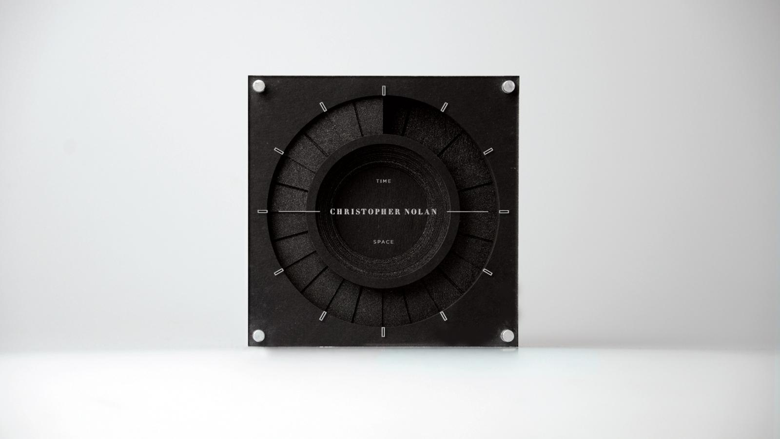 Packaging & Graphic Design for Christopher Nolan's Time X Space