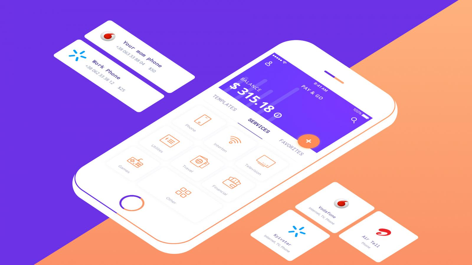Mobile Application & UI/UX: A look at Pay & Go Wallet App