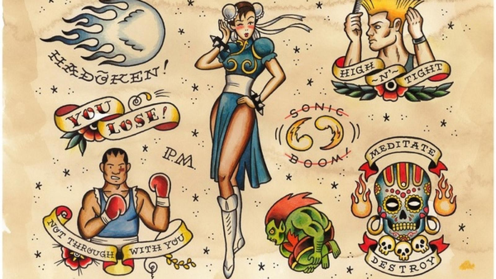Witty Street Fighter Fanarts
