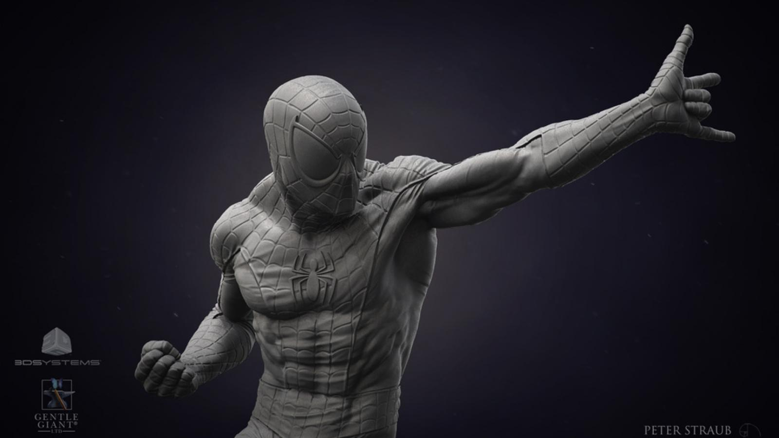 Superb CG 3D Sculptures by Peter Straub