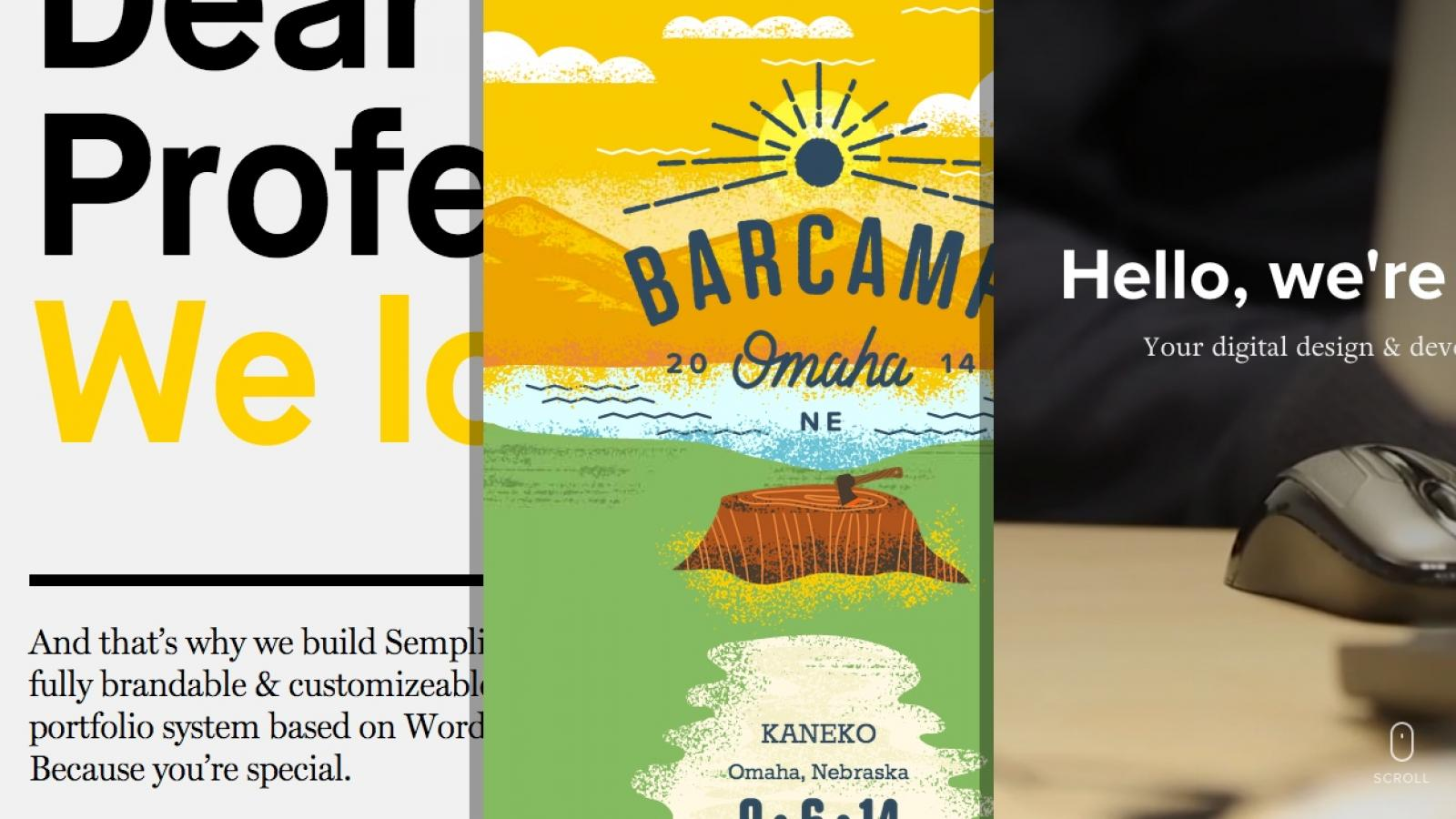 Sites of the Week: Kalexiko, Acorns, Semplice and more