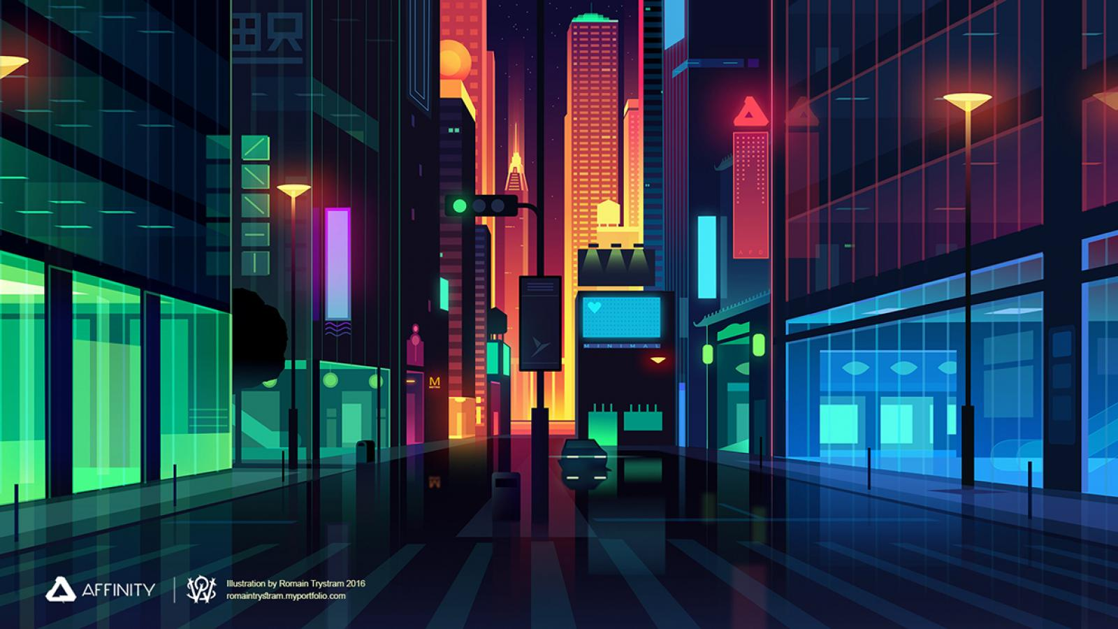 Affinity Designer Illustration
