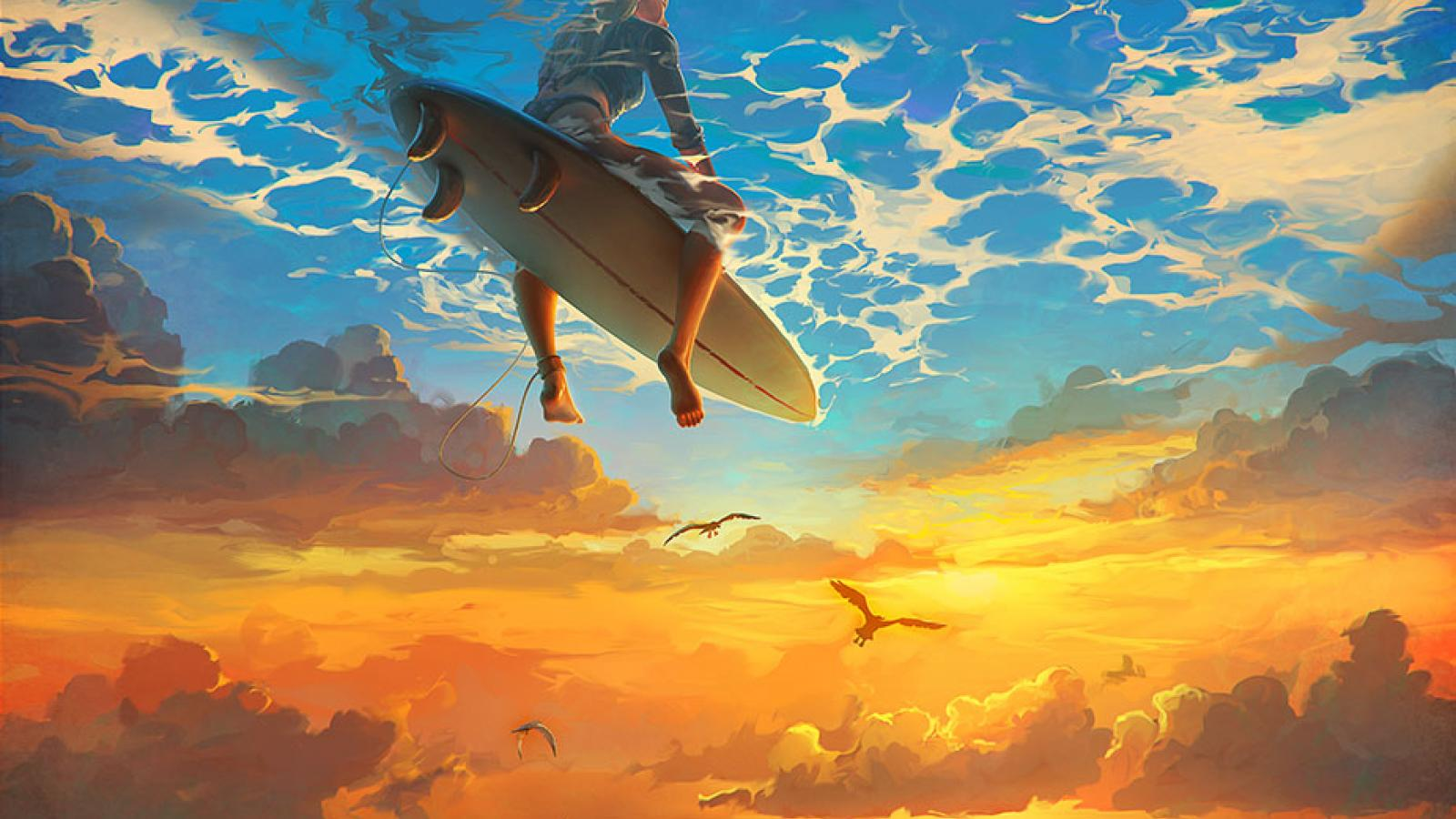 Awesome Digital Paintings by Rhads